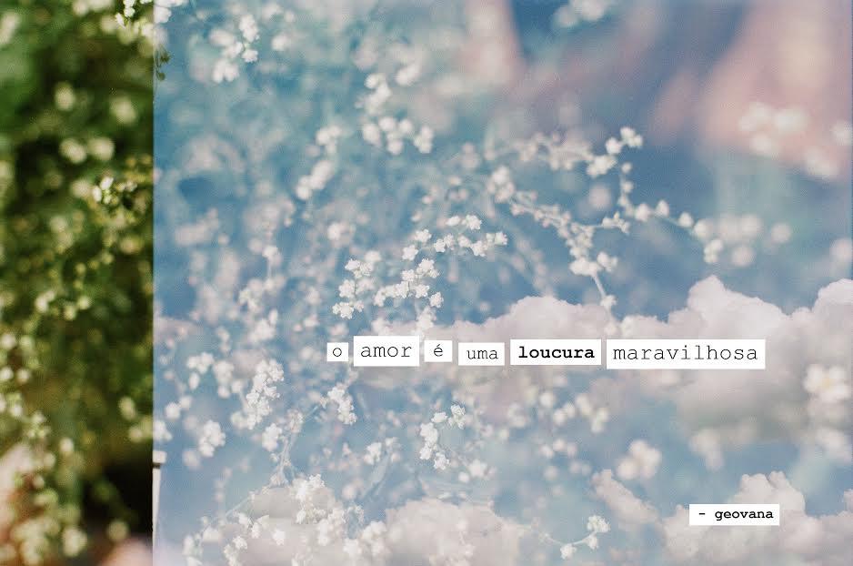 Pisa nesse chão com força: flores em vida para Geovana
