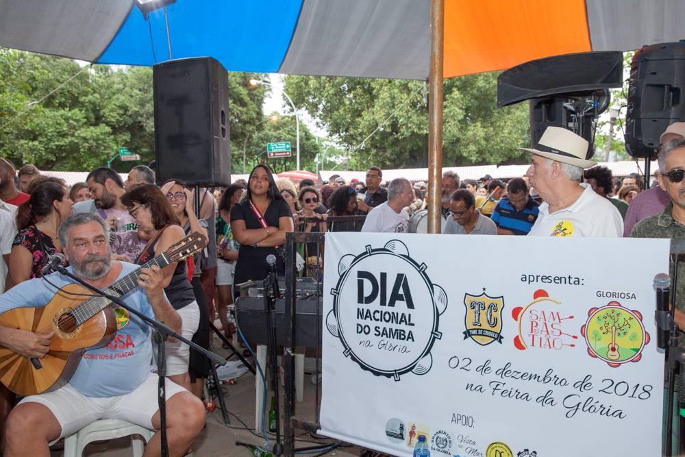 Coletivo se une ao Dia Nacional do Samba na Glória